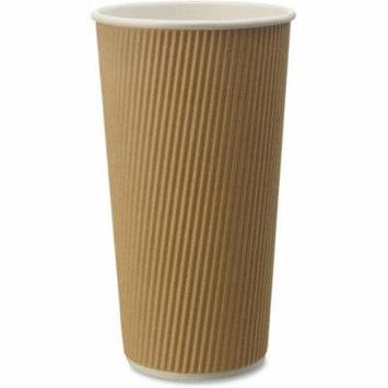 Hot Drink Cup, 20 oz - Brown