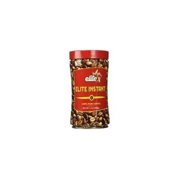 Elite Coffee Instant Tin (D) Pack of 6 7 oz container Bargain Price!!!