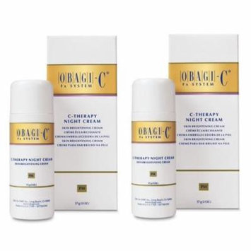 Obagi C-Therapy Night Cream 2 oz 2 Pack