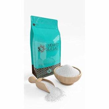 Unscented Mediterranean Sea Bath Salt Soak - 5lb (Bulk) - Fine Grain