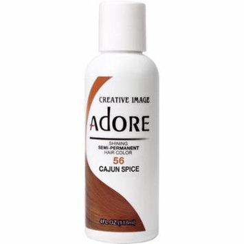 3 Pack - Creative Images Systems Adore Semi-Permanent Haircolor, [056] Cajun Spice 4 oz