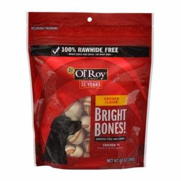 Ol' Roy Dog Treats Bright Bones, Chicken Flavor, 12 oz.