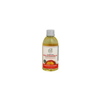 Body & Massage Oil Clarifying Mandarin & Mango - 5.5 fl. oz. by Petal Fresh (pack of 1)