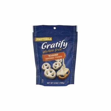 Gratify Gluten-Free Yogurt Covered Pretzels, 5.5 oz, 2 Pack