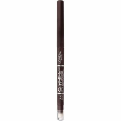 L'Or ©al Paris Infallible Never Fail Eyeliner, Black Brown, 0.008 Oz (Pack of 2)