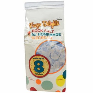 Rival RS8-X-RVL Frozen Delights Rock Salt, 8 Lbs