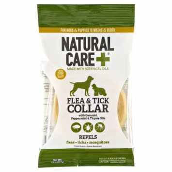 Natural Care Flea and Tick Prevention Collar for Dogs & Puppies