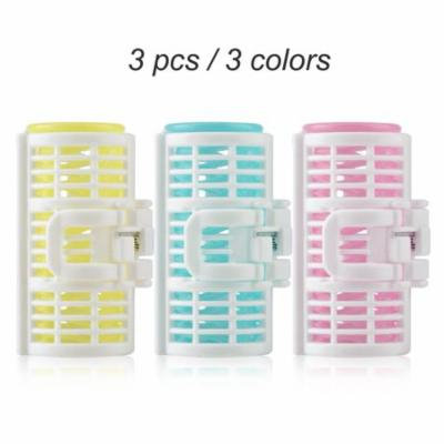 3 pcs Hair Curler Spring Clip Grip Rollers DIY Hairstyle Hair Curler Styling Tool