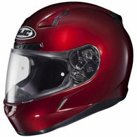 HJC 0951-2201-11 Rear Vent for CL-17 Helmets - Wine