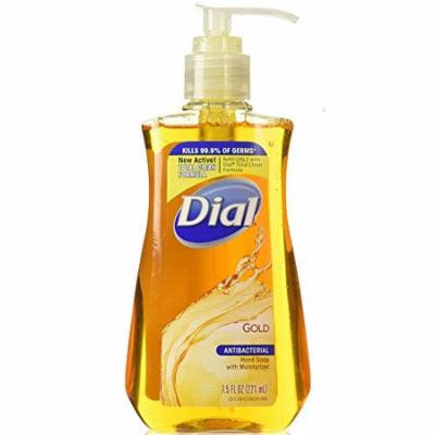 Dial Gold with Moisturizer Antibacterial Hand Soap 7.5 oz (Pack of 12)