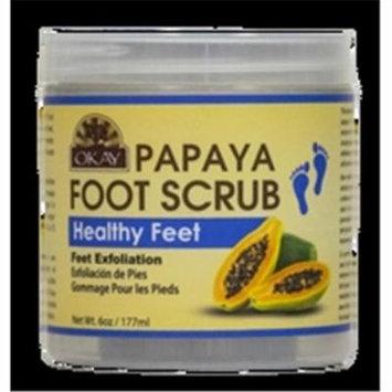 Papaya Foot Scrub, 177 ml - 6 oz