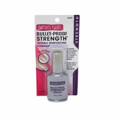 Nutra Nail Bullet-Proof Stength Formula + High Gloss Top Coat + Makeup Blender Sponge