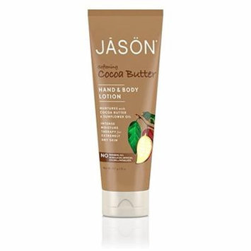JASON Cocoa Butter Hand & Body Lotion, 8 Ounce