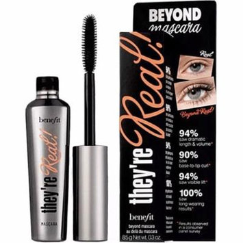 Benefit Cosmetics They're Real! Beyond Mascara, Black, 0.3oz/8.5g