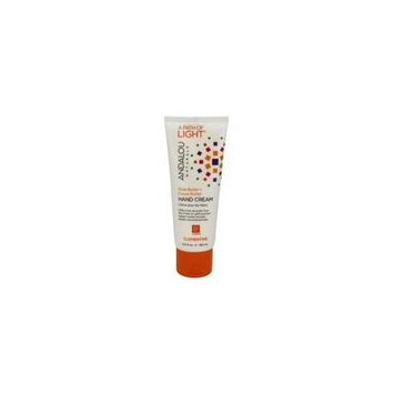 A Path of Light Shea Butter + Cocoa Butter Hand Cream Clementine - 3.4 fl. oz. by Andalou Naturals (pack of 2)