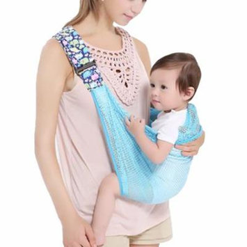 Infant Wrap Carrier, Aniwon Breathable Soft Cotton Mesh Multifunctional Baby Back Carrier Newborn Carrier Infant Back Wrap Nursing Cover Great Baby Gift
