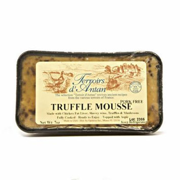 Mousse Truffle Pate, All Natural - 4 pcs. x 7 oz (198 gr)