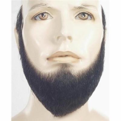 EM-33 HX4 Human Hair Full Face Beard, No.30 Medium Brown with Red