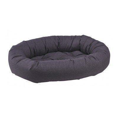 platinum microcotton donut bed (extra large, grape)
