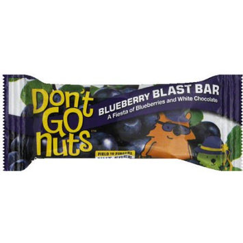 Dont Go Nuts Don't Go Nuts Blueberry Blast Bar Energy Bar, 1.58 oz, (Pack of 12)