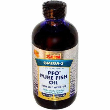 Health From The Sun PFO Pure Fish Oil Liquid, 8 OZ