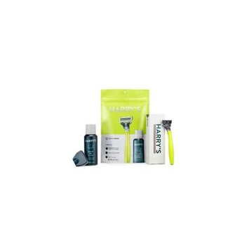 Harry's 4 ct Tennis Green Men's Shaving Gift Set Limited Edition
