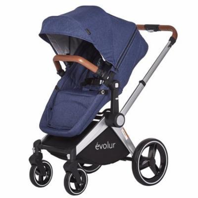 Evolur Nova Reversible Seat Stroller, Navy