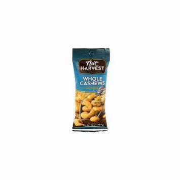 Nut Harvest Sea Salted Whole Cashews 2.5oz 8 Pack