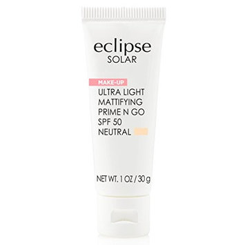 Eclipse Solar Ultra Light Mattifying Prime N Go SPF 50 Primer, Neutral, 1 Ounce