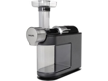 Philips HR189734 Micro Masticating Juicer, Silver