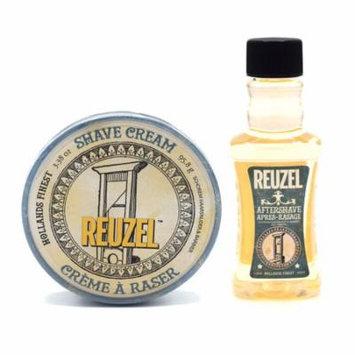 Reuzel Shaving Cream and Aftershave Set