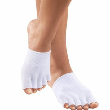Women's Toe Separating Moisturizing Socks Repair Cracked Dry Feet