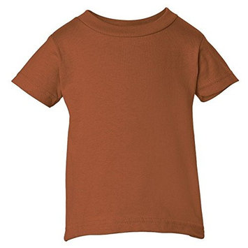 Rabbit Skins Infant Comfort Ribbed Crewneck T-Shirt