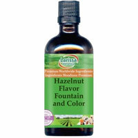 Hazelnut Flavor Fountain and Color (4 oz, ZIN: 528169) - 2-Pack