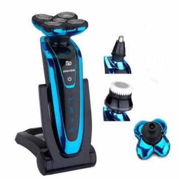 iMeshbean 3 in 1 Rotary 5D Rechargeable Washable Men's Cordless Electric Shaver Razor
