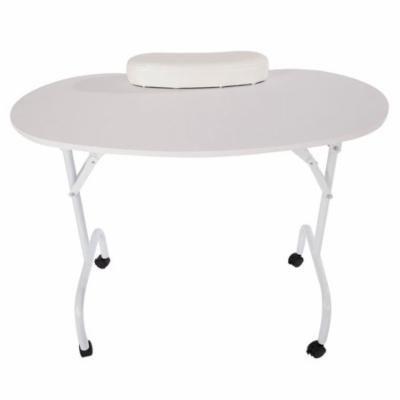 New Brand Home Use Foldable Mini Assembling Desk for Nail Manicure White
