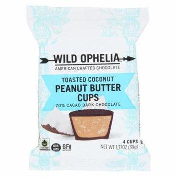 Wild Ophelia Peanut Butter Cup - Toastd Coconut - Case Of 12 - 1.37 Oz