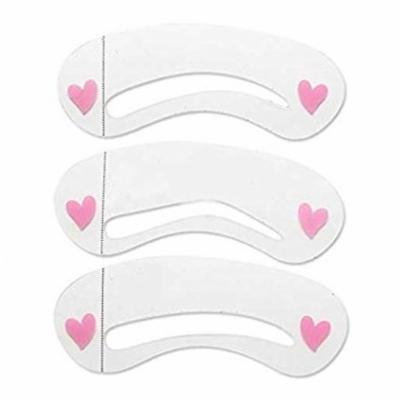 Reusable Eyebrow Stencils Shaping Template KIt -3 Pack