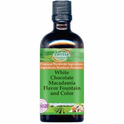 White Chocolate Macadamia Flavor Fountain and Color (4 oz, ZIN: 528265) - 2-Pack