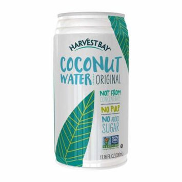 Harvest Bay Coconut Water - Canned - Case of 12 - 11.16 fl oz