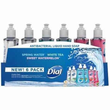 Dial Antibacterial Liquid Hand Soap, Variety Pack (9.375 oz., 6 Pack.)