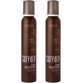 Surface Curls Whip Mousse 5.5 oz - Pack of 2