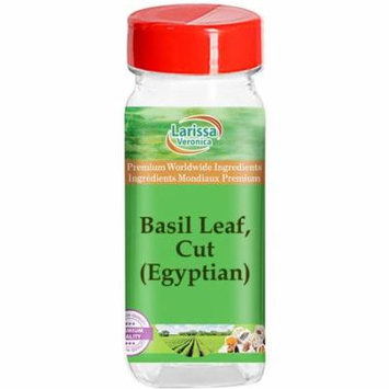 Basil Leaf, Cut (Egyptian) (8 oz, ZIN: 528348) - 3-Pack