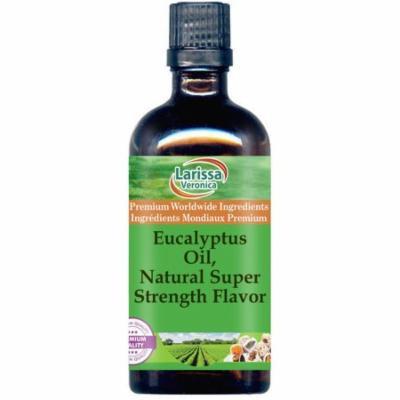 Eucalyptus Oil, Natural Super Strength Flavor (8 oz, ZIN: 528531) - 2-Pack