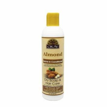 OKAY OKAY-ALMLC8 8 oz 237 ml Almond Leave In Conditioner