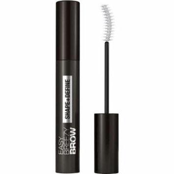 COVERGIRL Easy Breezy Brow Shape & Define Eyebrow Mascara, Rich Brown, .3 oz (Pack of 6)