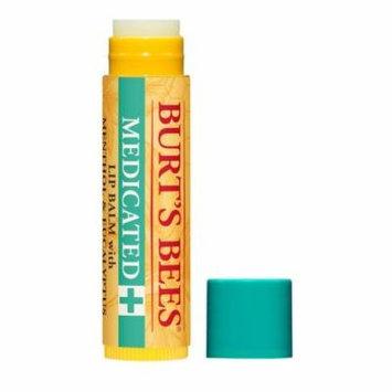 Burt's Bees Medicated Lip Balm, Menthol & Eucalyptus, 0.15 OZ (Pack of 8)