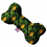 Pineapples in Paradise 10 Inch Bone Dog Toy