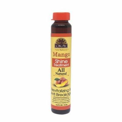 OKAY OKAY-MANST1 0.6 oz 18 ml Mango Shine Treatment