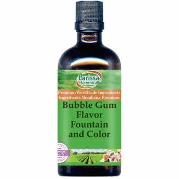 Bubble Gum Flavor Fountain and Color (16 oz, ZIN: 528087) - 3-Pack